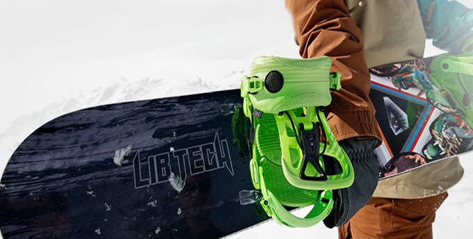 VIP snowboard equipment